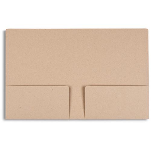 Pina Zangaro Folders (25-Pack, Kraft Brown)
