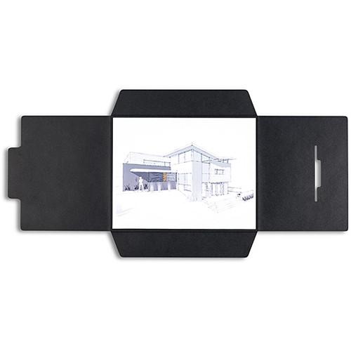Pina Zangaro Open-Flap Folders (25-Pack, Black)