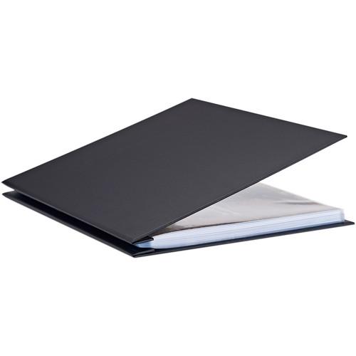 "Pina Zangaro Bex 11 x 14"" Screw Post Binder (Portrait Orientation, Black, 20 Pages)"