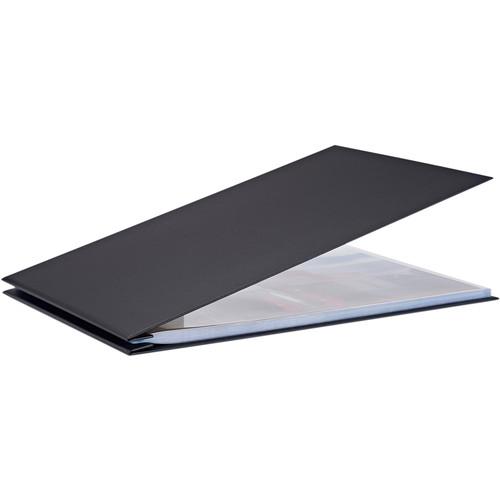 "Pina Zangaro Bex 17 x 11"" Screw Post Binder (Landscape Orientation, Black, 20 Pages)"