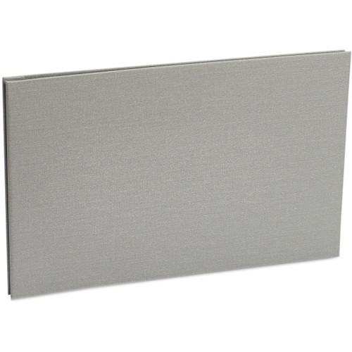 "Pina Zangaro Bex 17 x 11"" Screw Post Binder (Landscape Orientation, Gray, 20 Pages)"