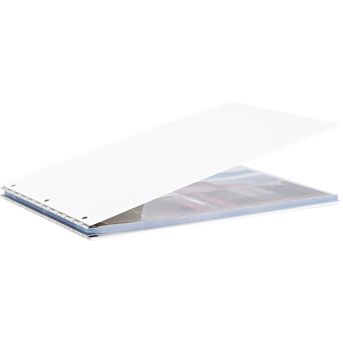 "Pina Zangaro Vista 17 x 11"" Screw Post Binder (Landscape Orientation, Snow)"