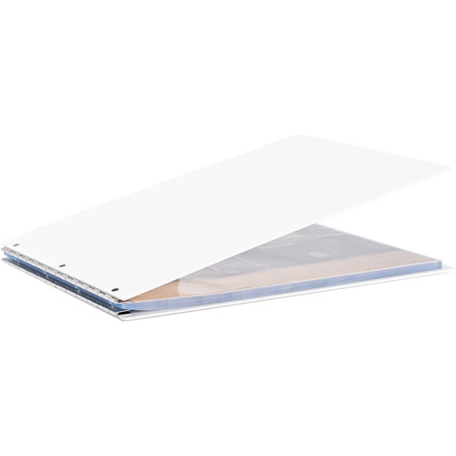 Pina Zangaro Vista A3 Screw Post Binder (Landscape Orientation, Snow)