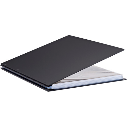 "Pina Zangaro Vista 11 x 14"" Screw Post Binder (Portrait Orientation, Onyx)"
