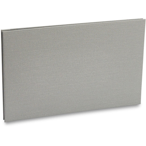 "Pina Zangaro Bex 11 x 17"" Screw Post Binder (Landscape Orientation, Gray)"