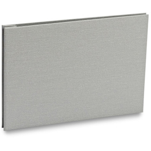 "Pina Zangaro Bex 8.5 x 11"" Screw Post Binder (Landscape Orientation, Gray)"