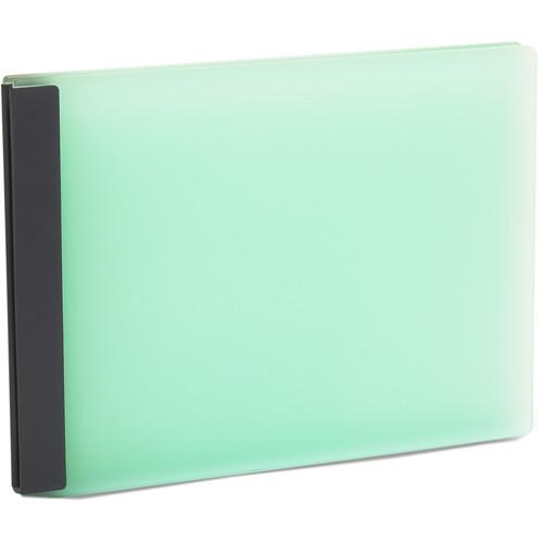 """Pina Zangaro Lumen 8.5 x 11"""" Landscape Presentation Book (Glacier)"""