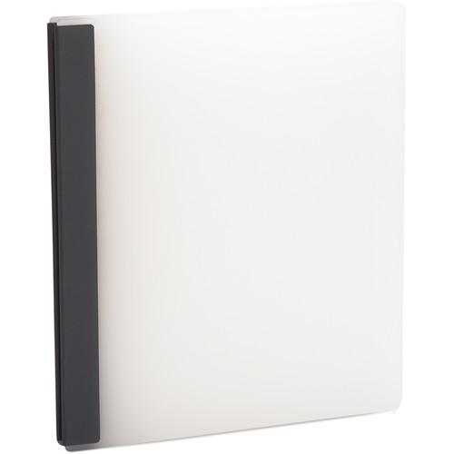"Pina Zangaro Lumen 11 x 8.5"" Portrait Presentation Book (Polar)"