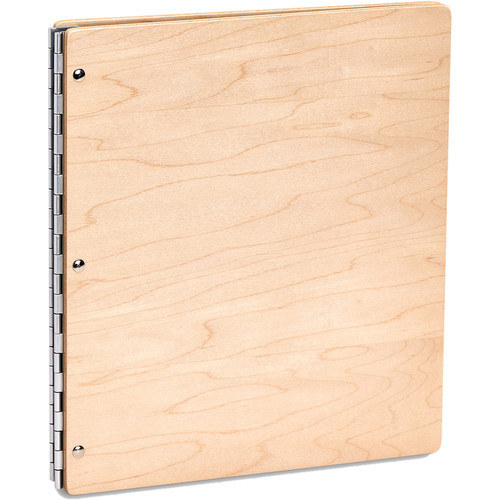 "Pina Zangaro Maple Screwpost Binder (Portrait Format, 8.5 x 11"")"