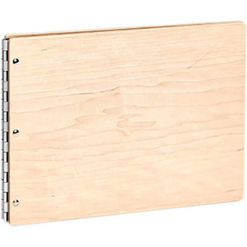 "Pina Zangaro Maple Screwpost Binder (Landscape Format, 11 x 14"")"