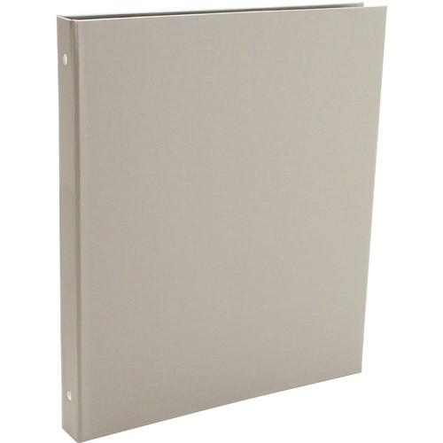 "Pina Zangaro Bex 3-Ring 0.5"" Binder without Cardholder (11.0 x 8.5"" Portrait Format, Gray)"