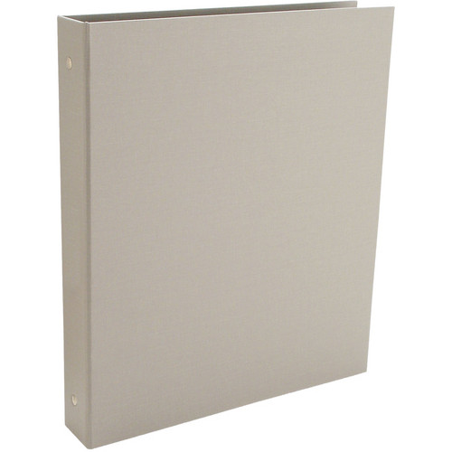"Pina Zangaro Bex 3-Ring 1"" Binder without Cardholder (11.0 x 8.5"" Portrait Format, Gray)"