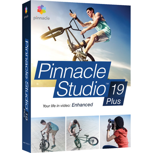 Pinnacle Studio 19 Plus for Windows (Box)