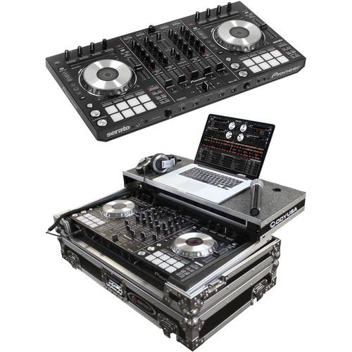 pioneer ddj sx serato software dj controller kit with hard case. Black Bedroom Furniture Sets. Home Design Ideas