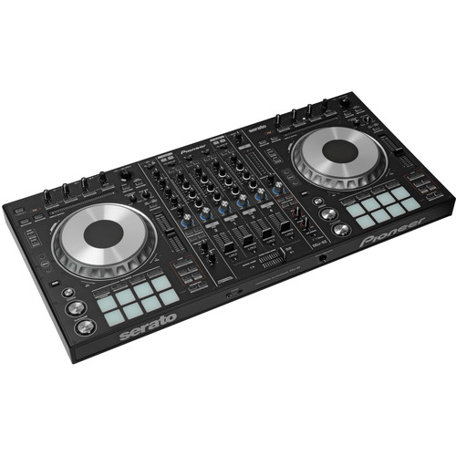 Pioneer DDJ-SZ Professional DJ Controller Kit with Flight Case, Headphones, and Cables