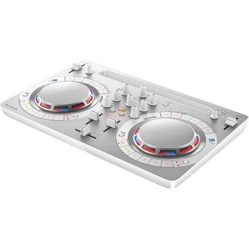 Pioneer DJ DDJ-WeGO4 Digital DJ Controller (White)