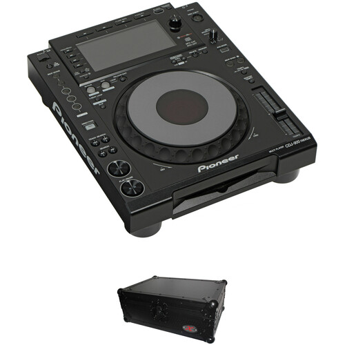 Pioneer DJ CDJ-900 Nexus Kit with Black Flight Case