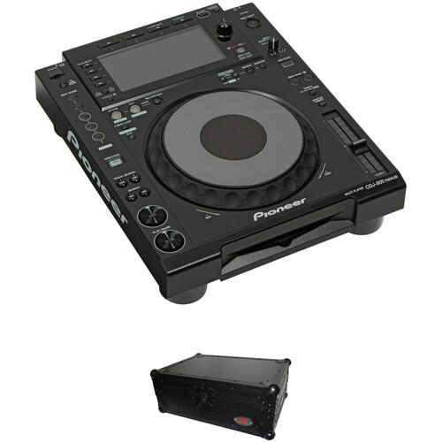 Pioneer DJ CDJ-900 Nexus Kit with Black Flight Case