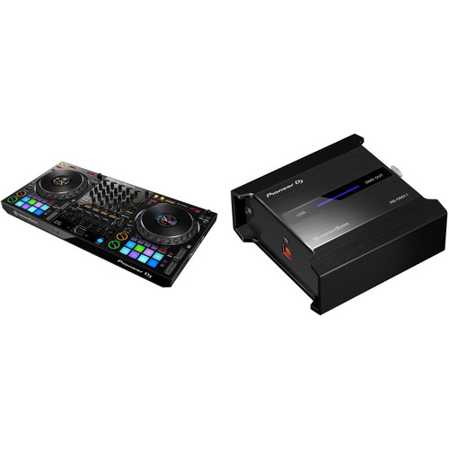 Pioneer DJ DDJ-1000 rekordbox dj Controller Kit with RB-DMX1 - DMX Interface