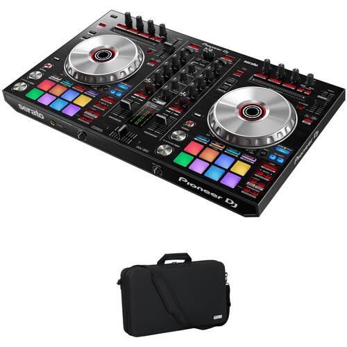 Pioneer DJ DDJ-SR2 Serato DJ Controller Kit with Carrying Case