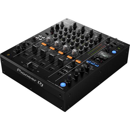 Pioneer DJ DJM-750MK2 4-Channel Professional DJ Club Mixer with USB Soundcard