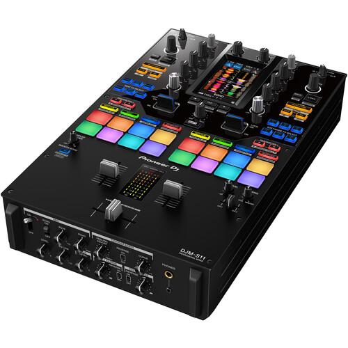 Pioneer DJ - DJM-S11 Professional 2-Channel Battle Mixer for Serato DJ Pro / rekordbox (Black)