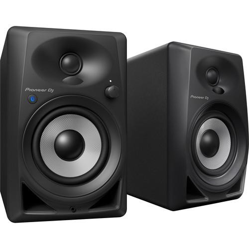"Pioneer DJ DM-40BT Bluetooth, Active 4"" Desktop Monitor Speakers (Black)"