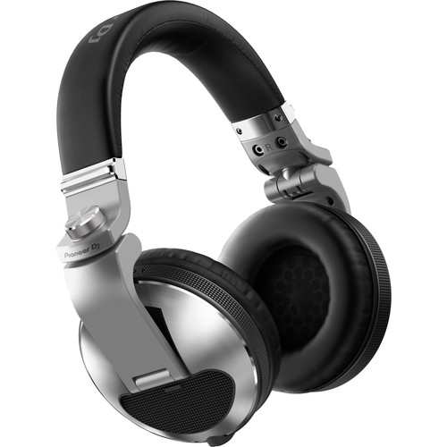 Pioneer DJ HDJ-X10 Professional Over-Ear DJ Headphones (Silver)