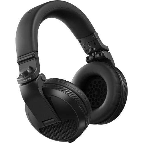 Pioneer DJ HDJ-X5BT Bluetooth Over-Ear DJ Headphones (Metallic Black)