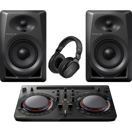 Pioneer DJ Performance with Controller, Speakers and Headphones