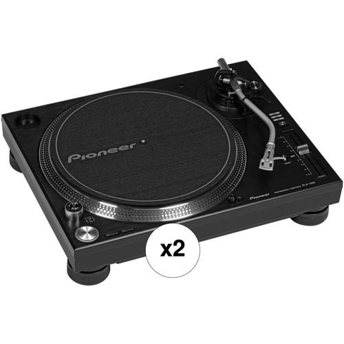 Pioneer DJ PLX-1000 Kit w/ Two Turntables (Pair)