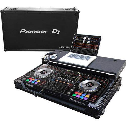 Pioneer DJ DJC-FLTSZ - ATA Flight Case with Glide Tray for DDJ-RZ, DDJ-SZ2, and DDJ-SZ Controllers