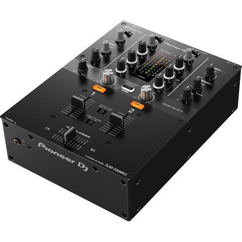 Pioneer DJ DJM-250MK2 2-Channel DJ Mixer (Black)