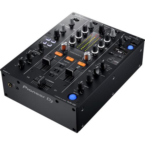 Pioneer DJ DJM-450 - 2-Channel DJ Mixer with FX