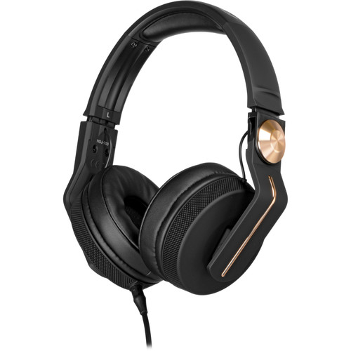 Pioneer HDJ-700 DJ Headphones (Black & Gold)