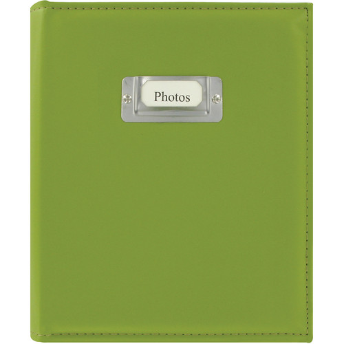 Pioneer Photo Albums CTS-246 Sewn Photo Album with Silver ID Cover (Bright Green)