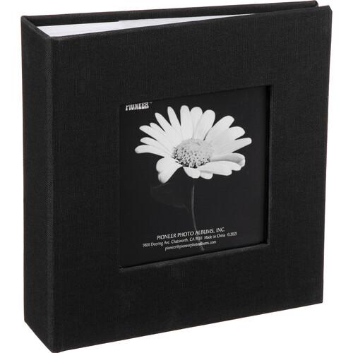 Pioneer Photo Albums DA-100CBF Cloth Frame Album (Deep Black)