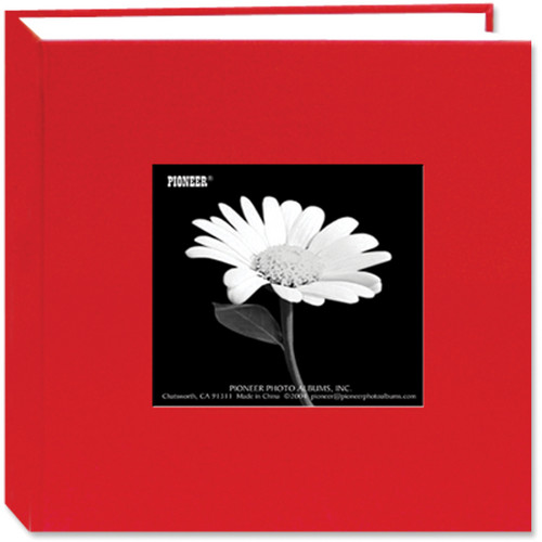 Pioneer Photo Albums DA-100CBF Cloth Frame Album (Apple Red)