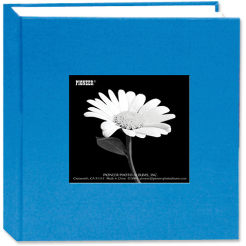 Pioneer Photo Albums DA-100CBF Cloth Frame Album (Sky Blue)