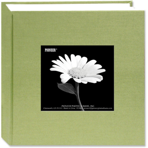 Pioneer Photo Albums DA-100CBF Cloth Frame Album (Sage Green)