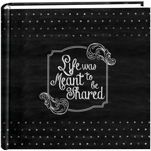 Pioneer Photo Albums Chalkboard Printed Memo Bi-Directional Album (Shared)