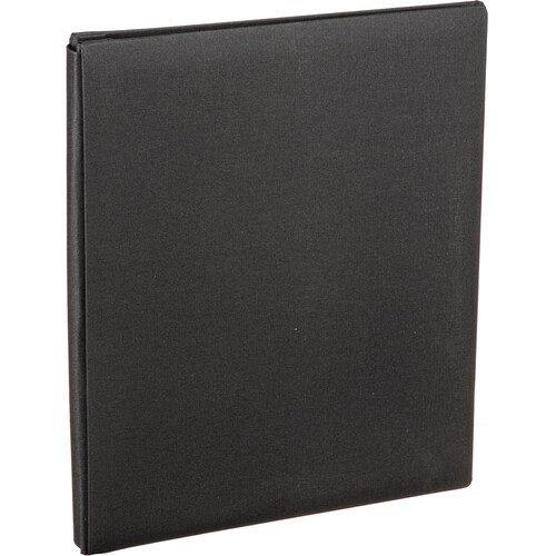 """Pioneer Photo Albums Family Treasures Deluxe Top-Loading Scrapbook with Fabric Cover (12 x 15"""", Ebony Black)"""