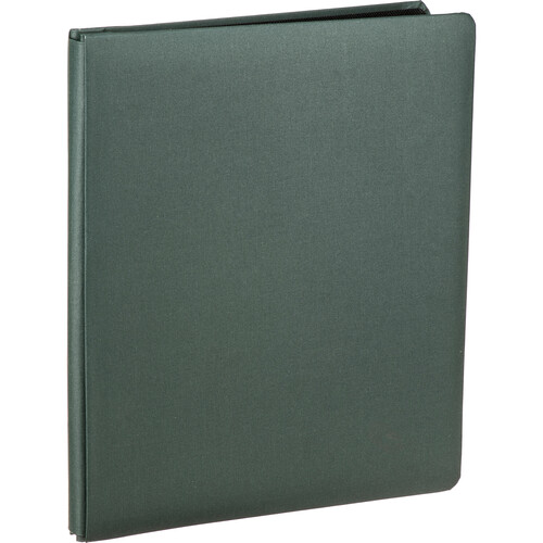 """Pioneer Photo Albums FTM Family Treasures Deluxe Top-Loading Scrapbook with Fabric Cover (12 x 15"""", Sherwood Green)"""