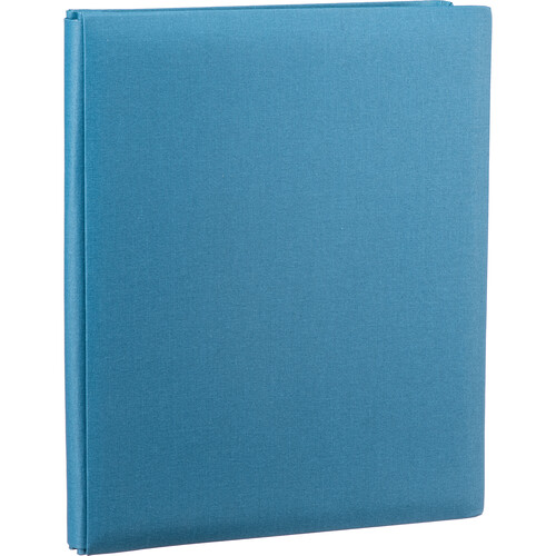 "Pioneer Photo Albums Family Treasures Deluxe Top-Loading Scrapbook with Fabric Cover (12 x 15"", Sea Breeze Blue)"