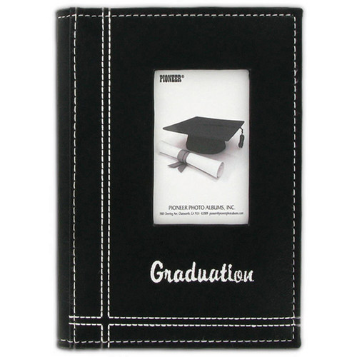 Pioneer Photo Albums GRAD46 Sewn Frame Graduation Brag Album