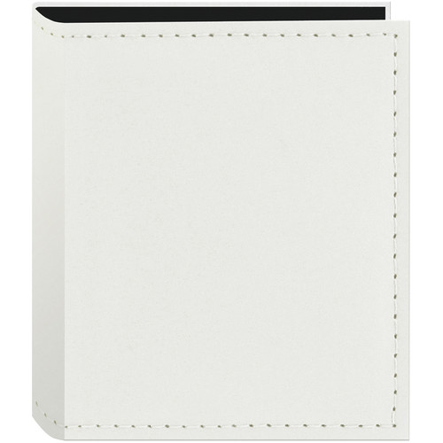 Pioneer Photo Albums Instant-Print Photo Album with Leatherette Covers - 40 Pockets (White)