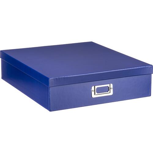 Pioneer Photo Albums Scrapbooking Storage Box (Bright Blue)