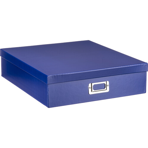Pioneer Photo Albums Scrapbooking Storage Box (Bright Blue)