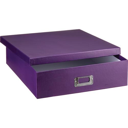 Pioneer Photo Albums Scrapbooking Storage Box (Bright Purple)