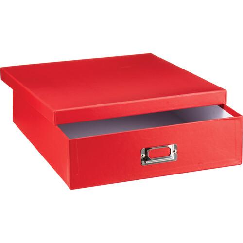 Pioneer Photo Albums Scrapbooking Storage Box (Bright Red)